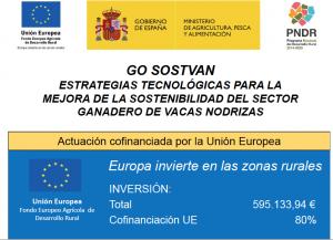 GO SOSTVAN. Estratégias tecnológicas para la mejora de la sostenibilidad del sector ganadero de vacas nodrizas. Actuación cofinanciada por la Unión Europea